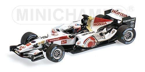 MINICHAMPS 400 060412 - Honda Ra106 Hun06 - Button (Dirty)